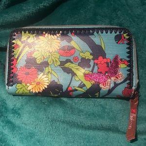 SakRoots accordion wallet
